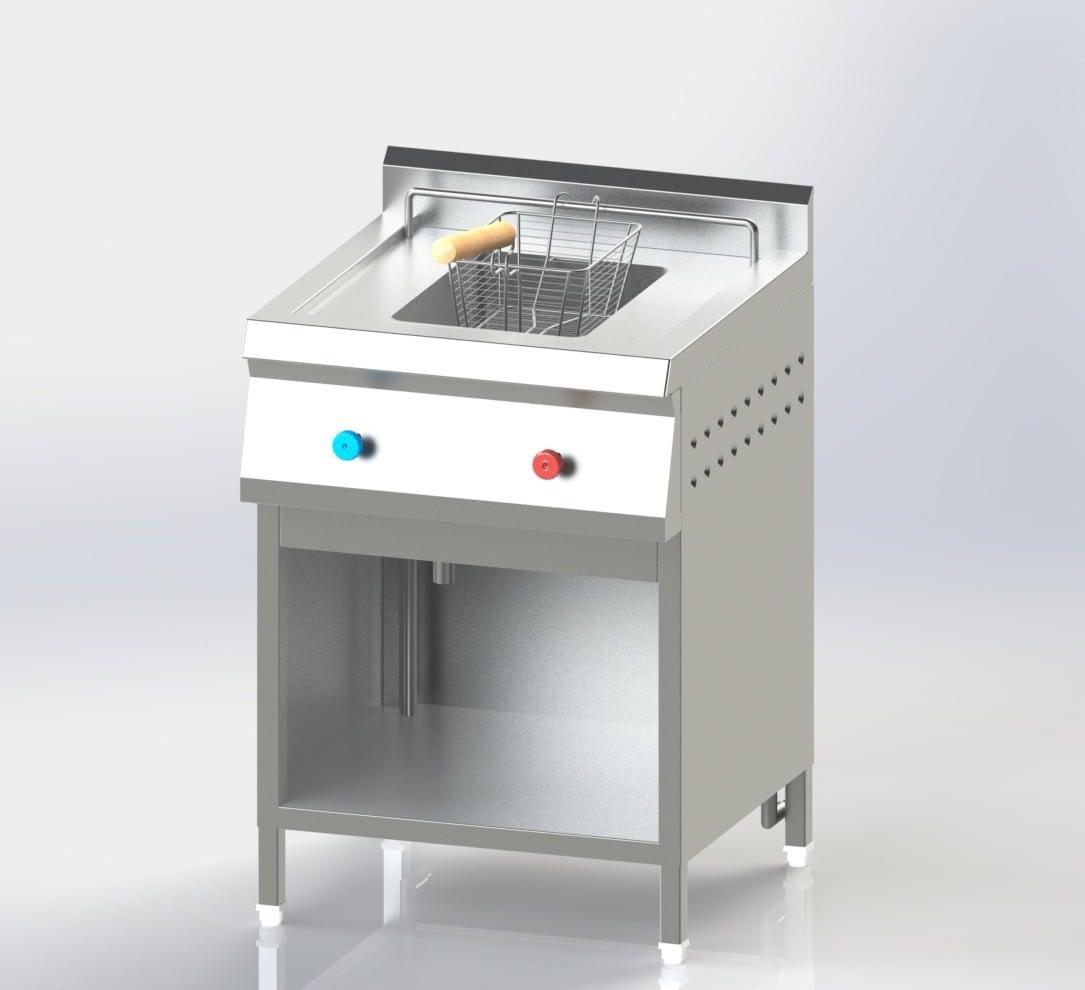 Single Chamber Deep Fat Fryer (Gas)