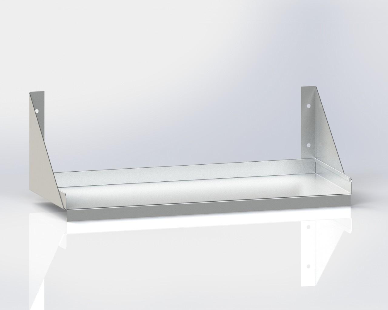 Wall Mounted Shelf /Below Bracket