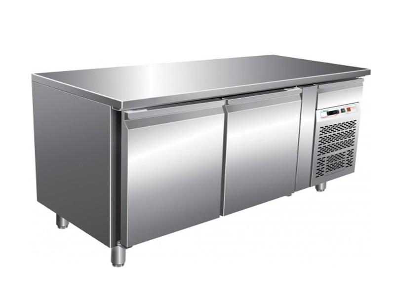 two-door-under-counter refrigerator