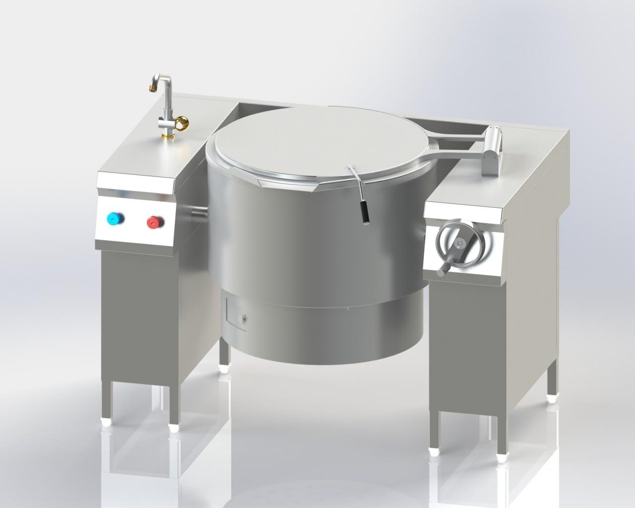 Tilting Boiling Pan (Gas)