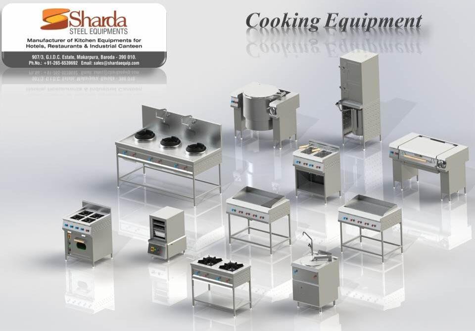 cooking equipment range
