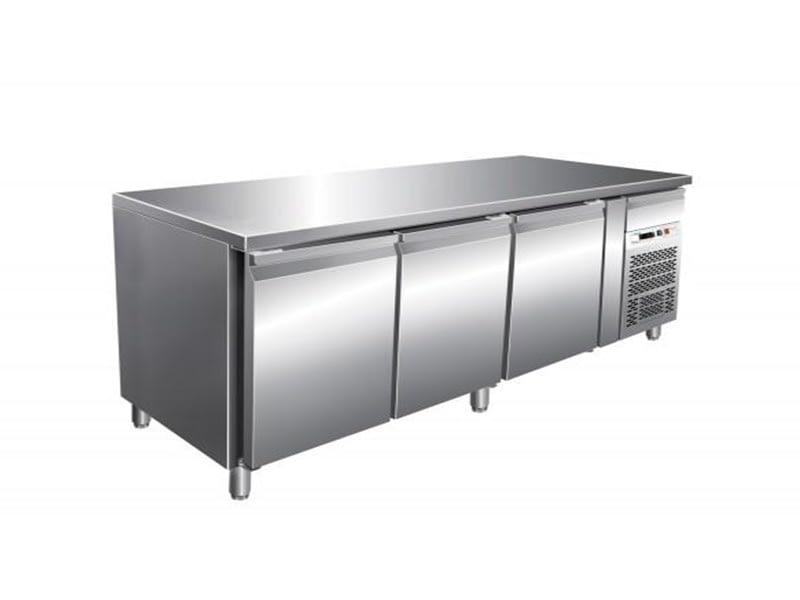 three-door-under-counter refrigerator