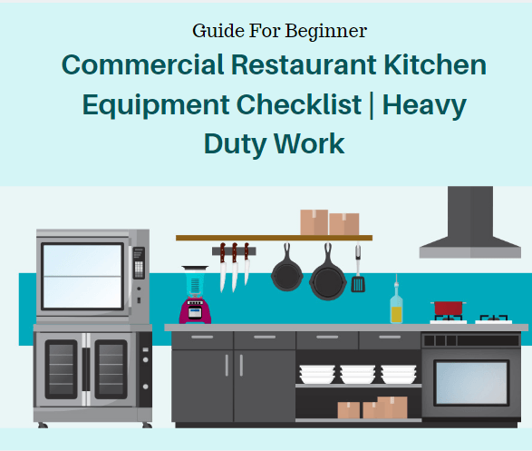 Commercial restaurant kitchen equipment heavy duty