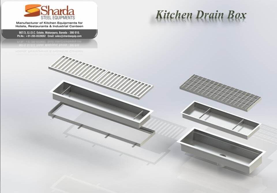 Kitchen Drain Box