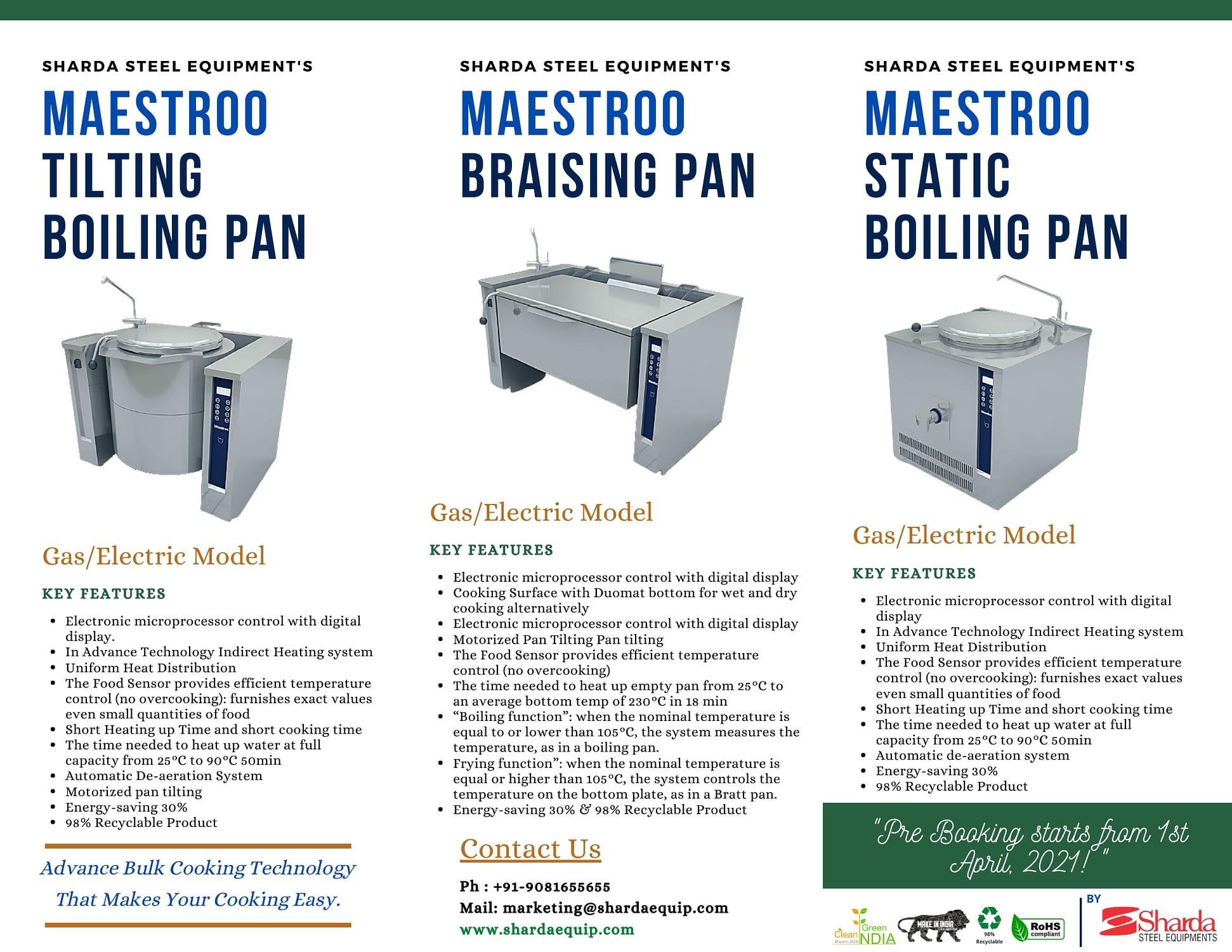 MAESTROO Range - Product Detail