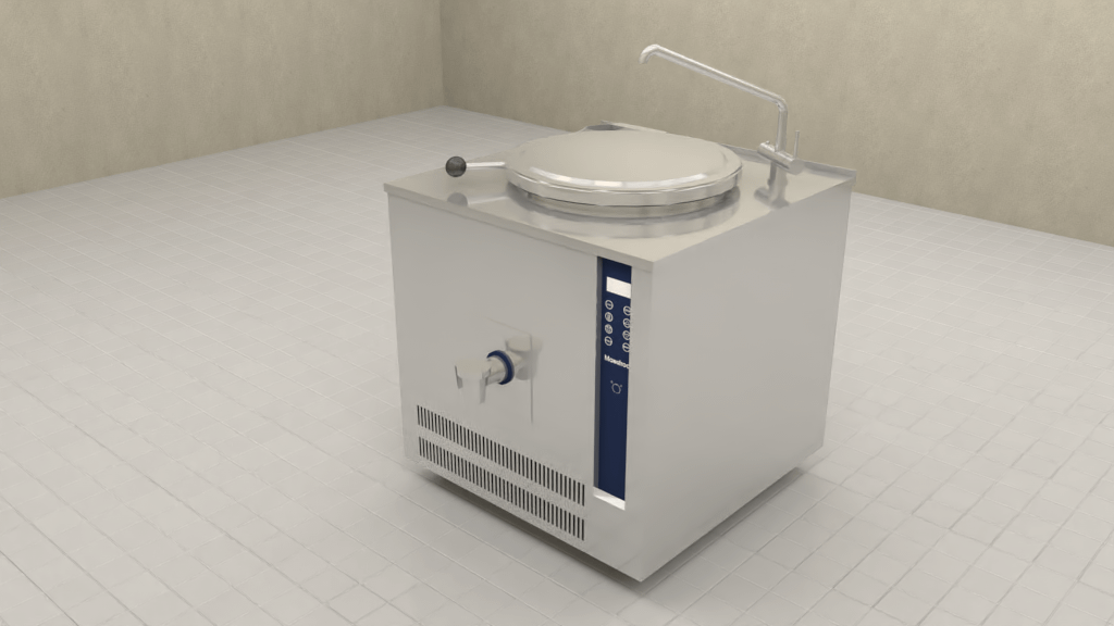 Maestroo Static Boiling Pan Gas