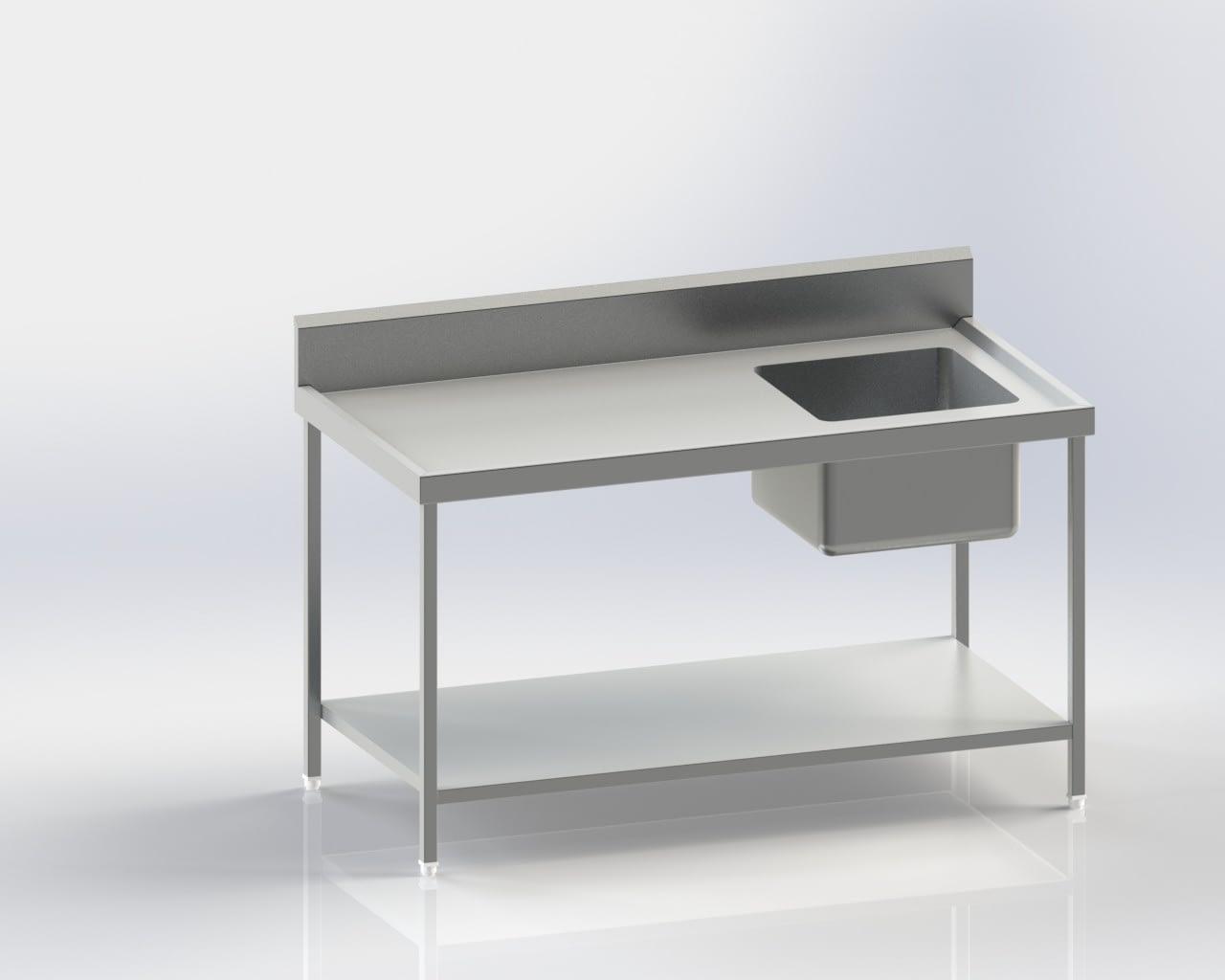 Work Table/Backsplash/Sink(right)