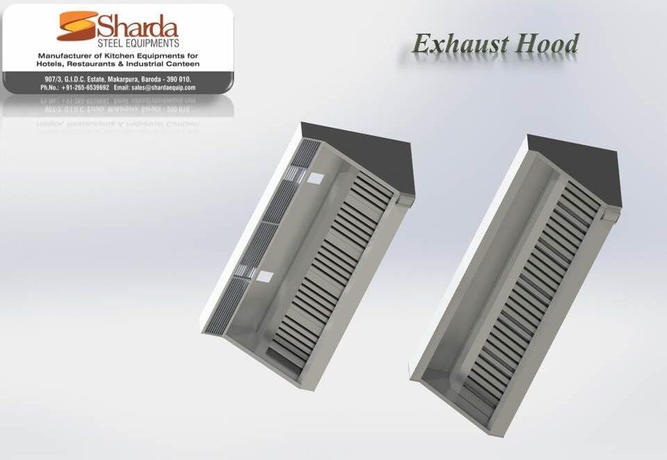 Kitchen SS Exhaust Hood