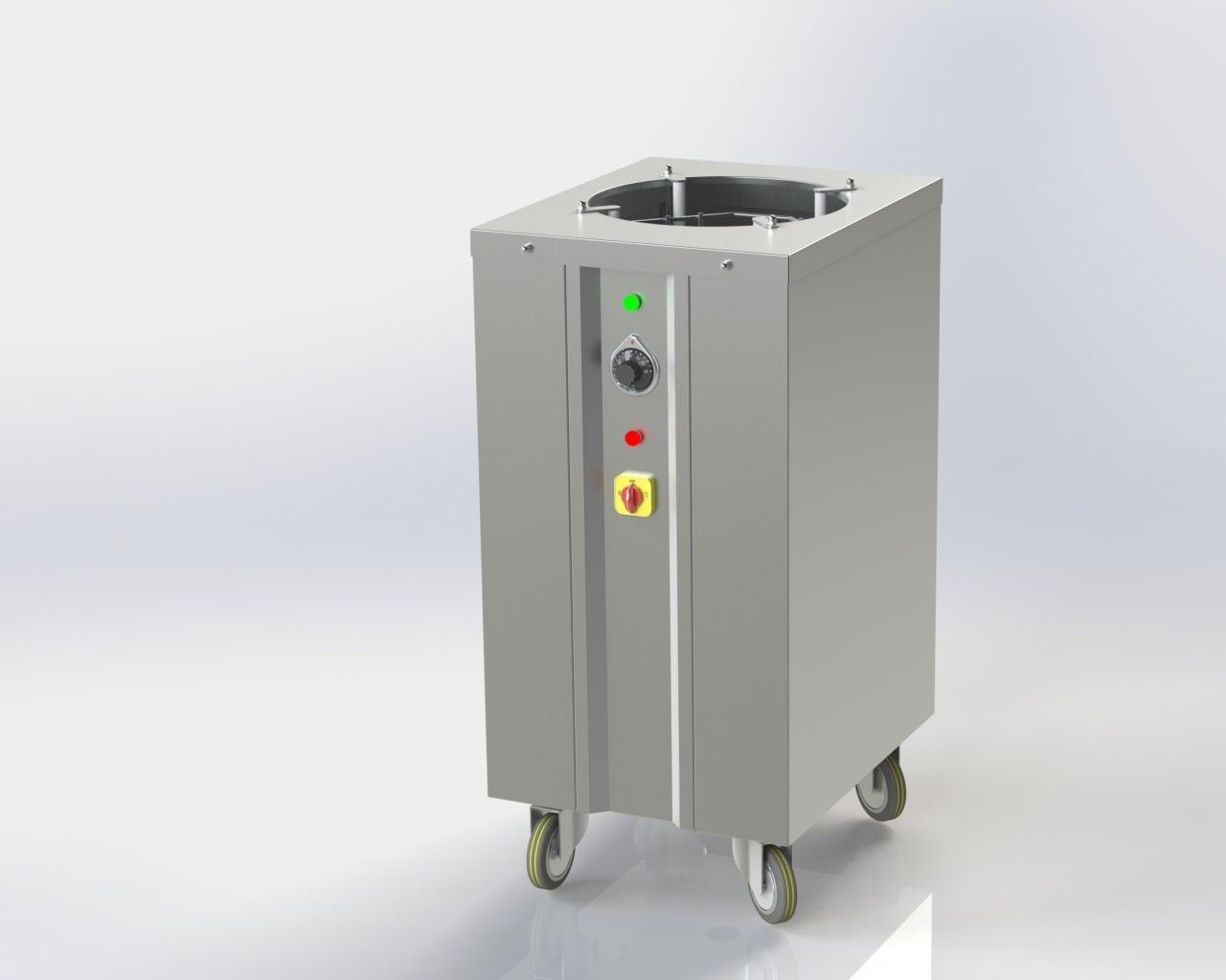 Hot Plate Dispenser