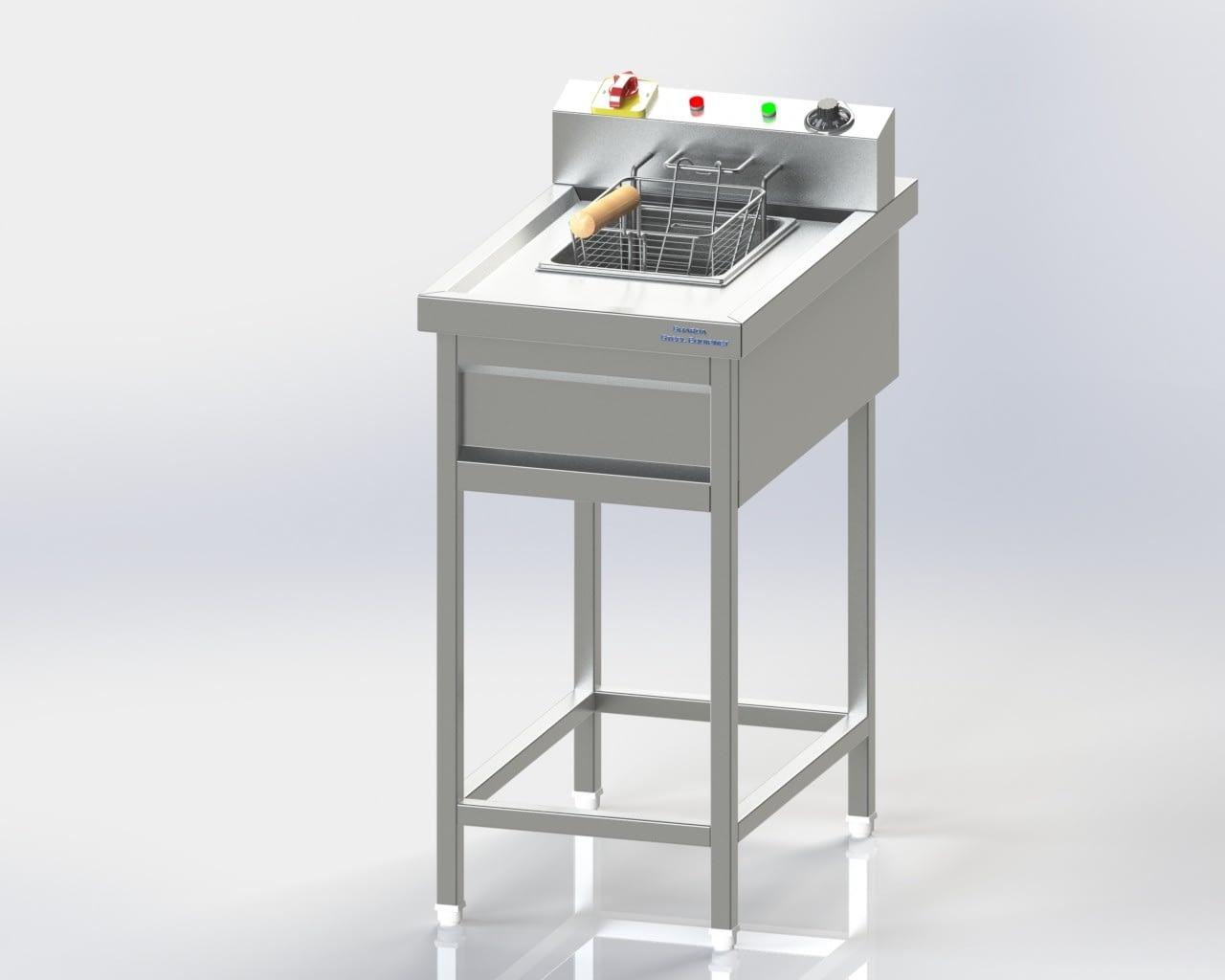 Single Chamber Deep Fat Fryer (Electric)