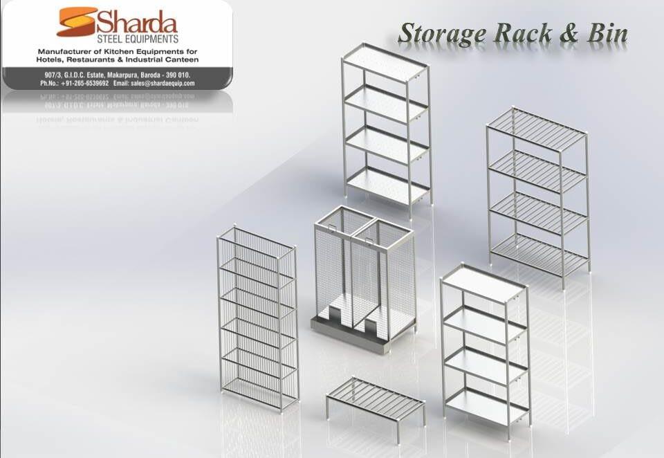 Storage Rack and Bin