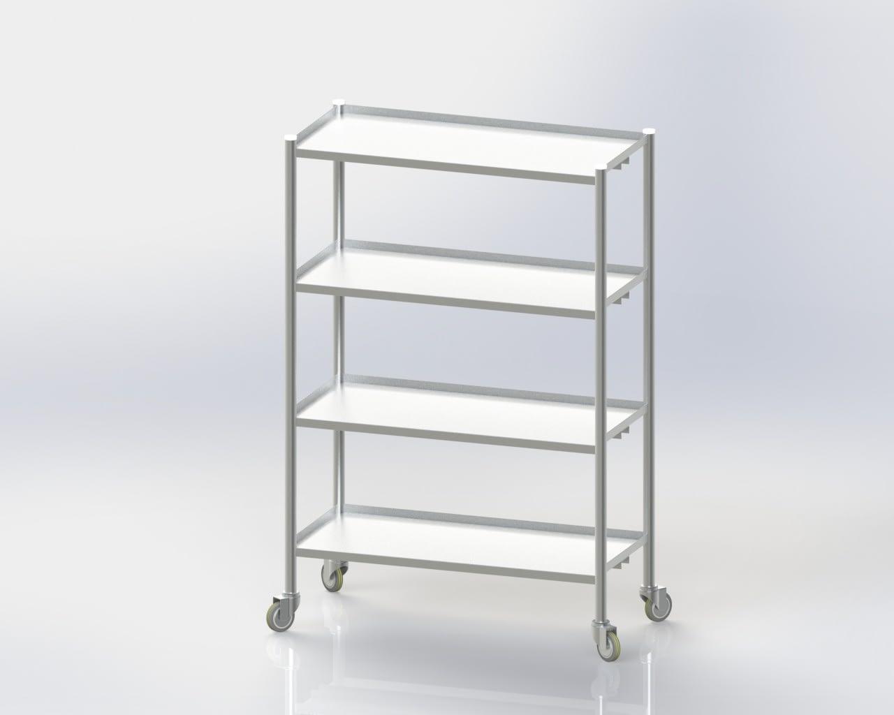4 Storage Rack / Standard / Mobile