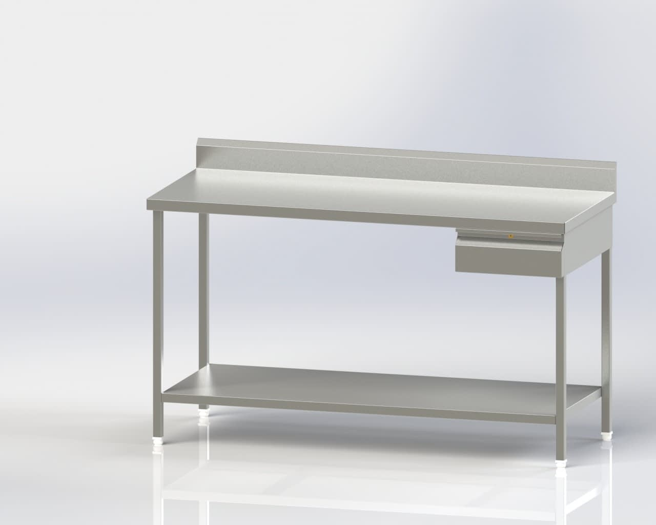 Work Table/under shelf/Single Drawer