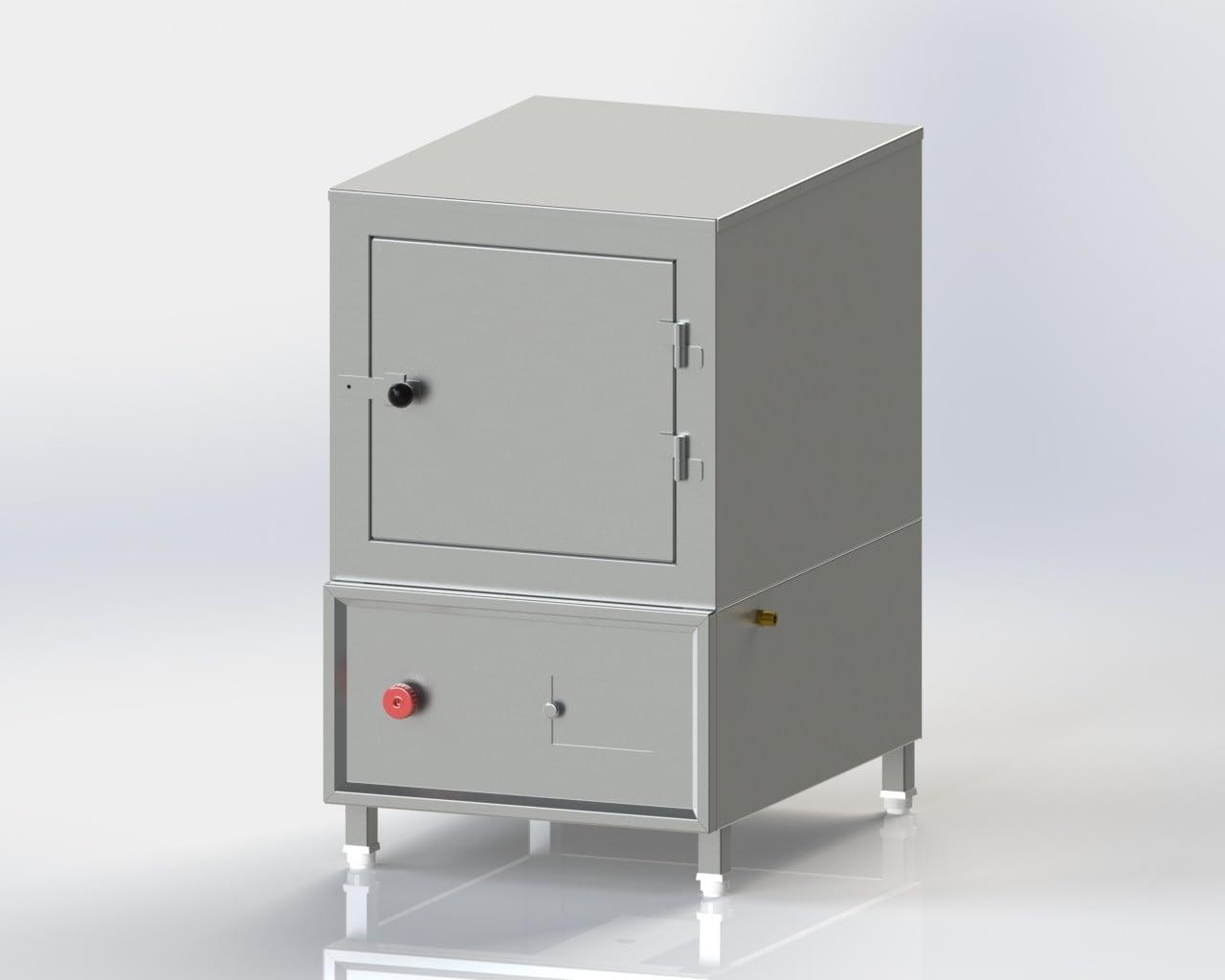 Single Deck Steamer (Gas)