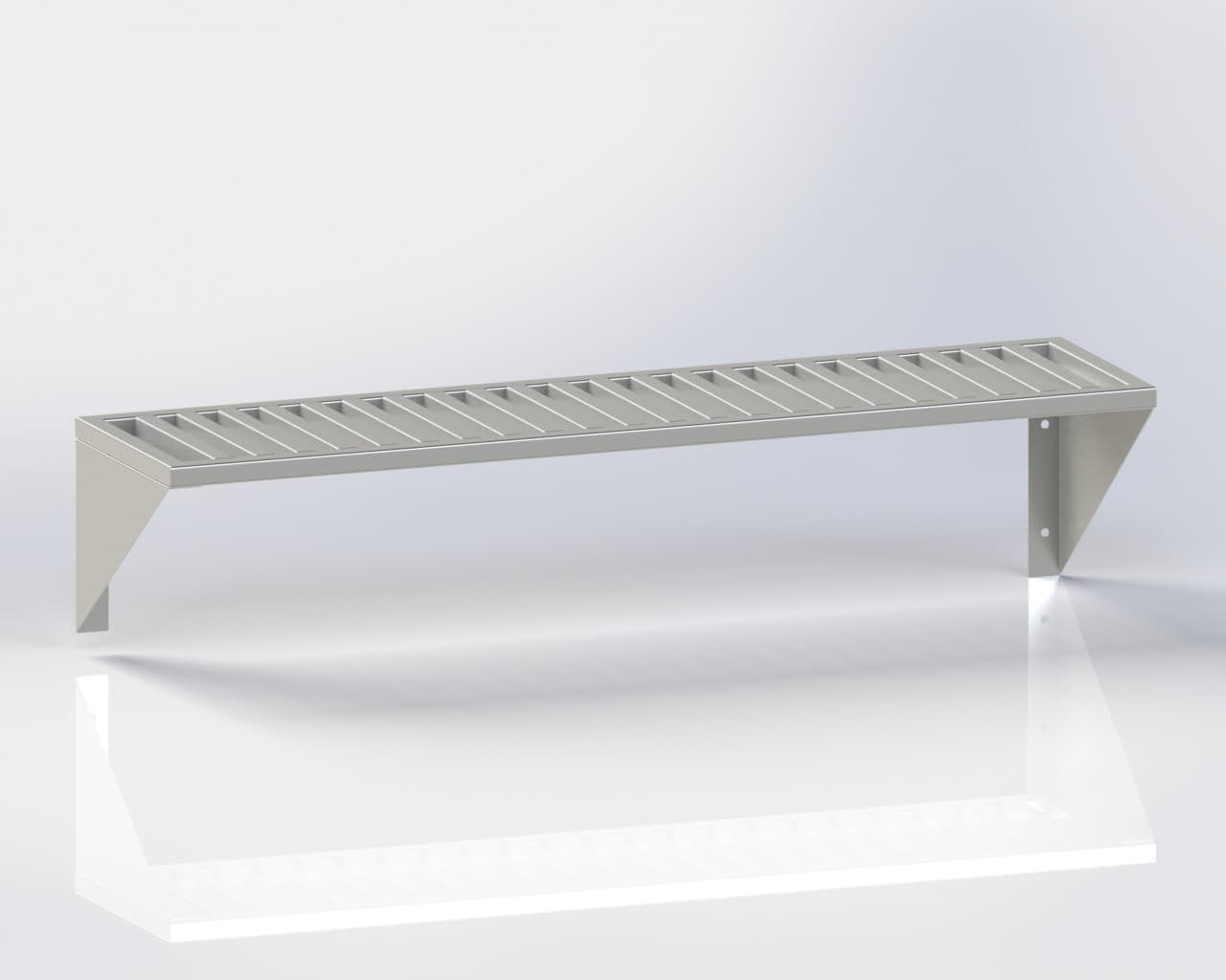 Wall Mointed Shelf /Pipe