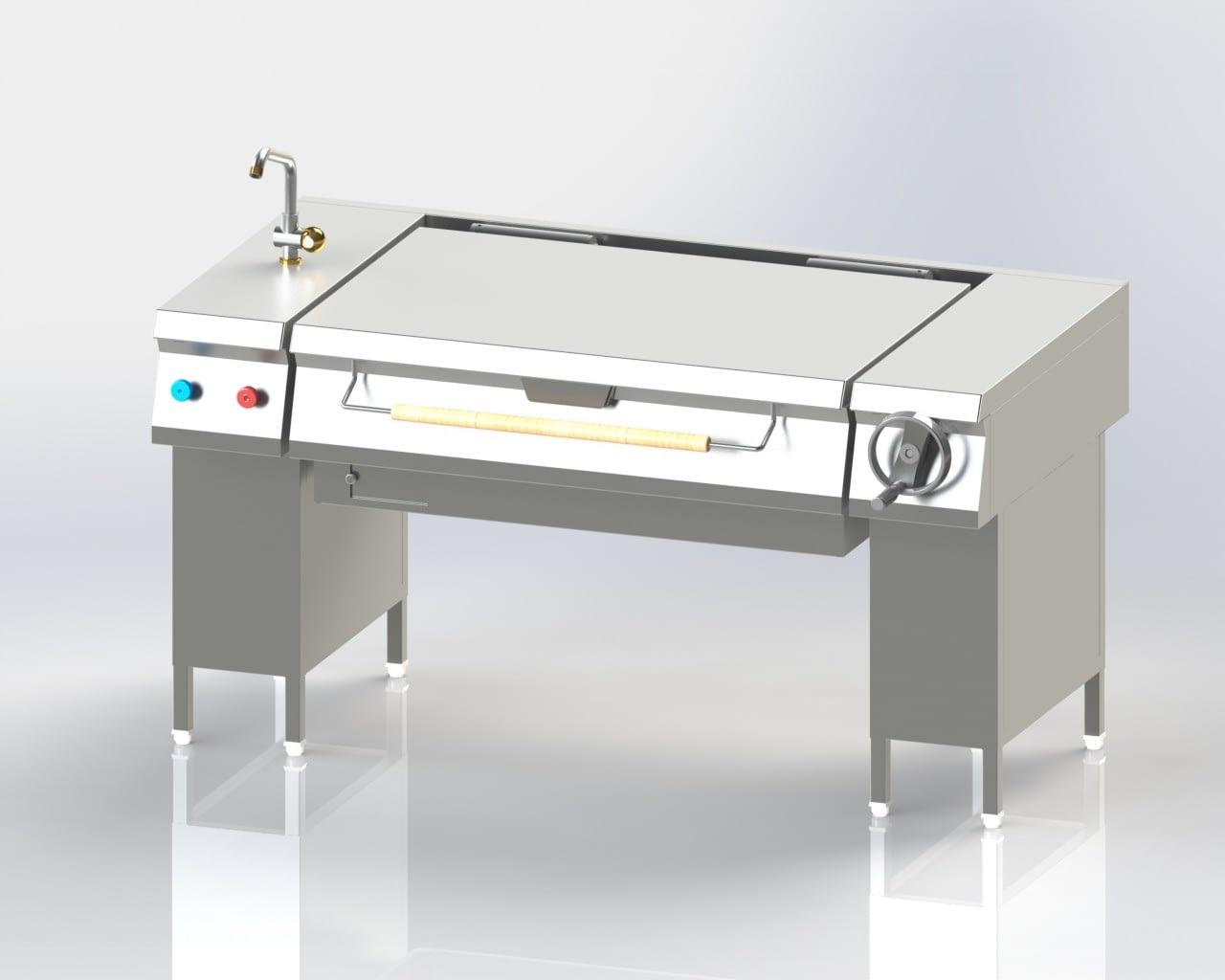 Tilting Bratt Pan (Gas)