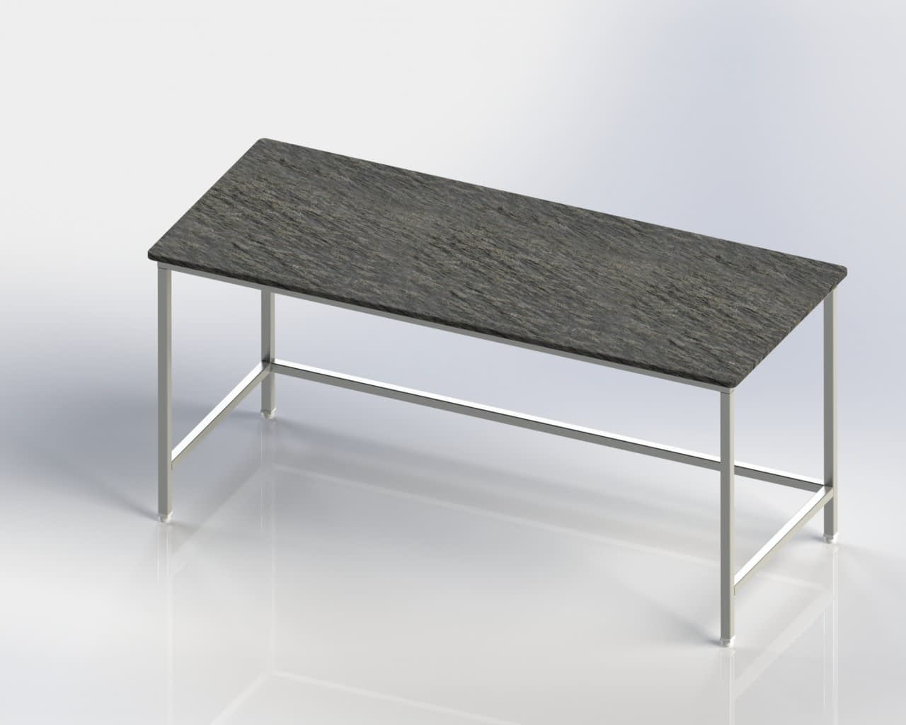 Marble Top Chapati Rolling Table